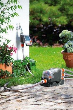Automatyczne nawadnianie ogrodu w okresie letnim
