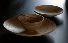 Naczynia z bambusa, misy i miski