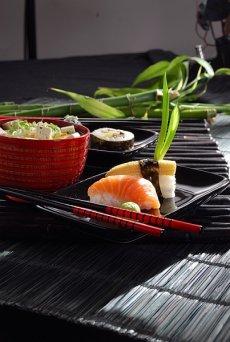 Bambusowy zestaw do sushi