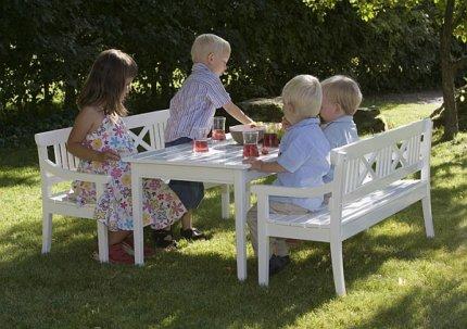 Meble ogrodowe Drachmann dla dzieci