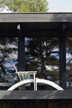 Meble ogrodowe, krzesło ogrodowe Adirondack