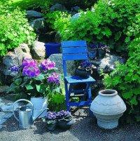 krzesło w ogrodzie